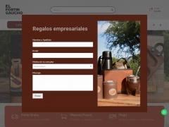 Venta online de Regalos Empresariales en El Fortín Gaucho