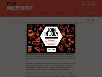 Film Independent at LACMA