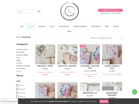 Tienda online de Florence Livres