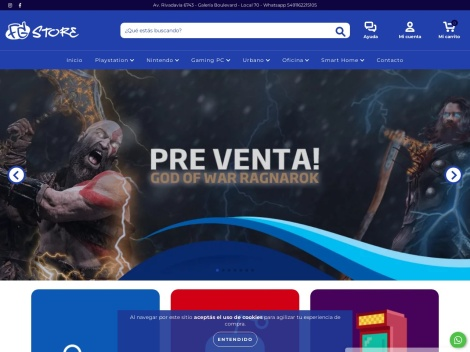 Tienda online de For Gamers
