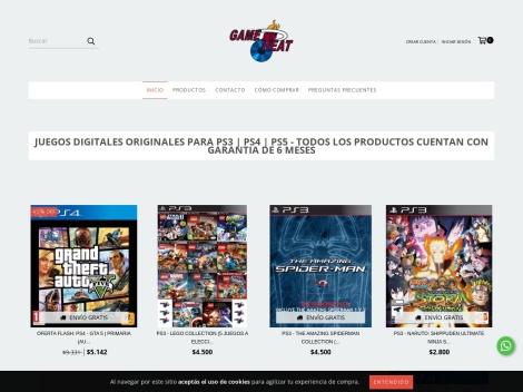 Tienda online de Game Heat