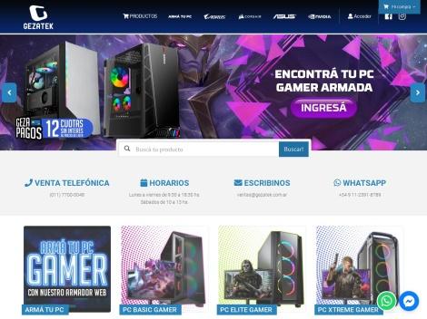 Tienda online de Gezatek | Tienda de Computación