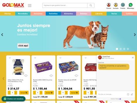 Tienda online de GOLOMAX Super Mayorista