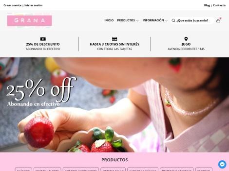 Tienda online de Grana Accesorios