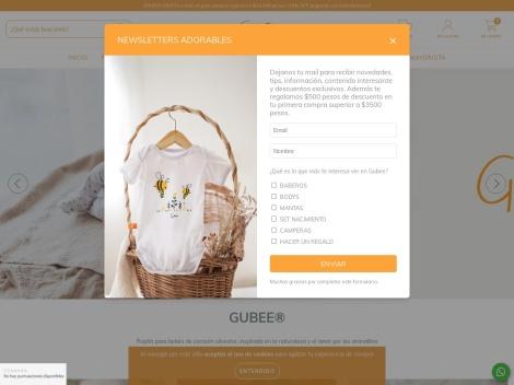 Tienda online de Gubee