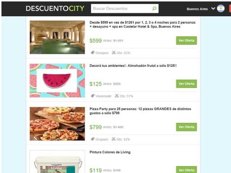 Tienda online de Descuento City