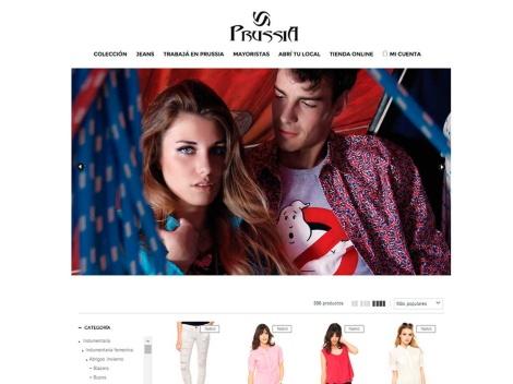 Tienda online de Prussia Indumentaria