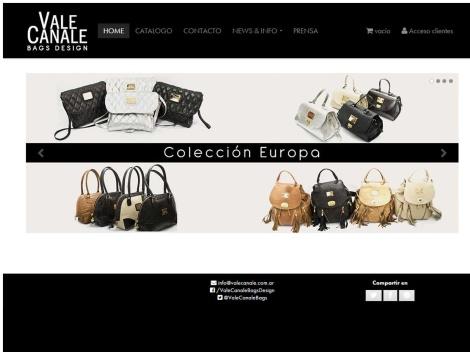 Tienda online de Vale Canale – Bags Design – Carteras