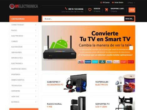 Tienda online de 01Electrónica