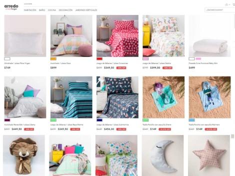 Tienda online de Venta de Blanquería Infantil [Arredo]