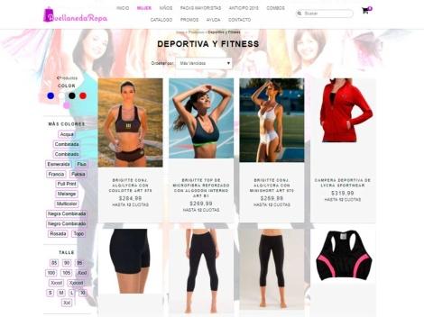 Tienda online de Tienda de Calzas y Ropa Deportiva – Avellaneda Ropa