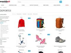 Venta online de Tiendas Deportivas en Deportes en Avenida