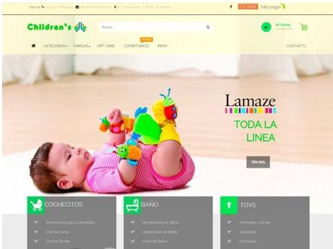 Tienda online de Children's – Tienda online