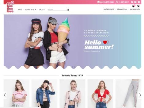 Tienda online de Combustion Love | Tienda Online de Ropa para Teens