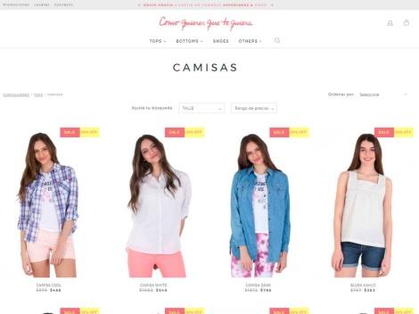 Tienda online de Como Quieres que te Quiera