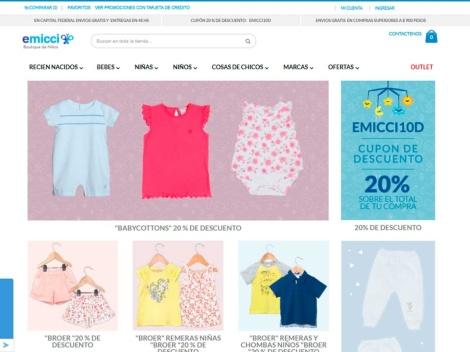 Tienda online de Emicci ✅ Ropa y Calzado Infantil