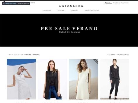 Tienda online de Estancias: Outlet Verano
