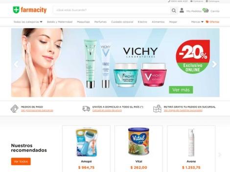 Tienda online de Farmacity Online – Argentina