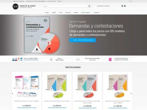 Tienda online de Editorial García Alonso | Contenidos Jurídicos