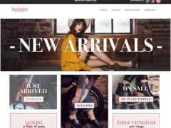 Venta online de Invierno 2018 en Zapatos Heben ✅ Calzado Femenino