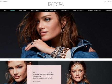 Tienda online de Isadora – Accesorios de Moda