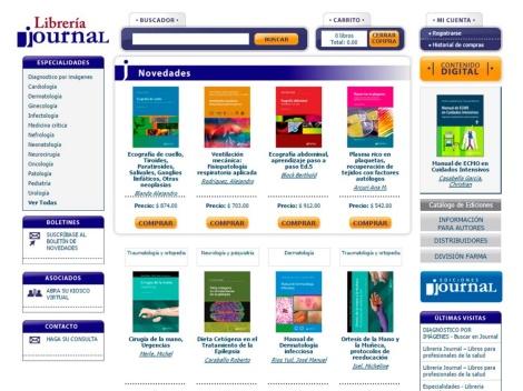 Tienda online de Libros de Medicina: Libreria Online Journal