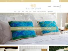 Venta online de Blanquería en Melissa Domit