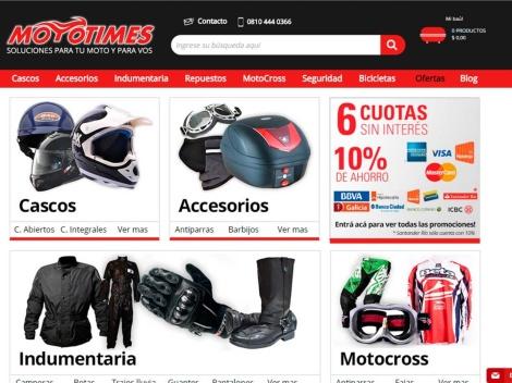 Tienda online de Mototimes – Productos para Motos