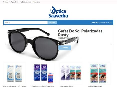 Tienda online de Optica Saavedra [Lentes de Contacto y Anteojos]