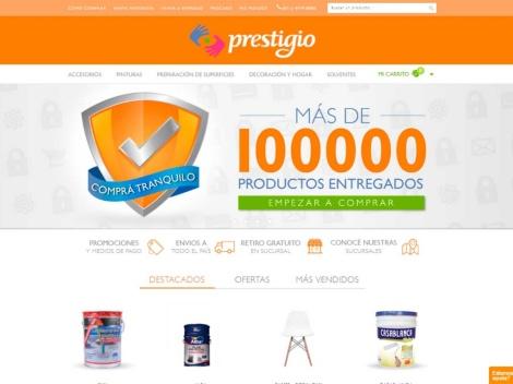 Tienda online de Pinturerias Prestigio – Tienda online