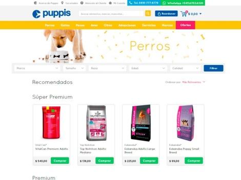 Tienda online de Tienda Puppis | Alimento para Mascotas