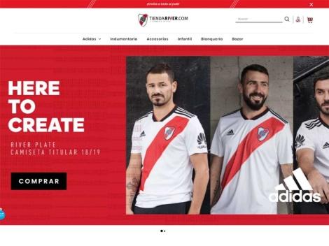 Tienda online de Tienda Online Oficial de River Plate (Argentina)