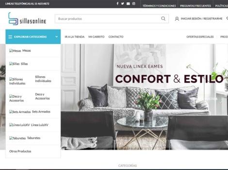 Tienda online de Sillas Online