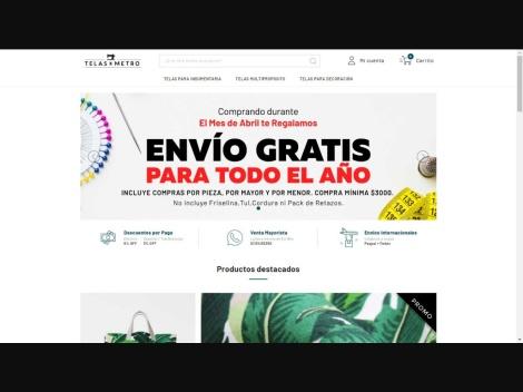 Tienda online de Telas x Metro