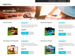 Venta online de Viajes Online en Escapadas en Valija Chica