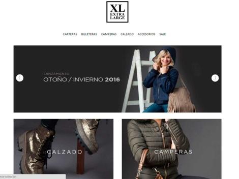 """Tienda online de Tienda de Carteras Argentinas """"XL Extra Large"""""""