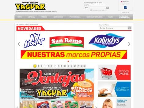 Tienda online de Supermercado Mayorista Yaguar
