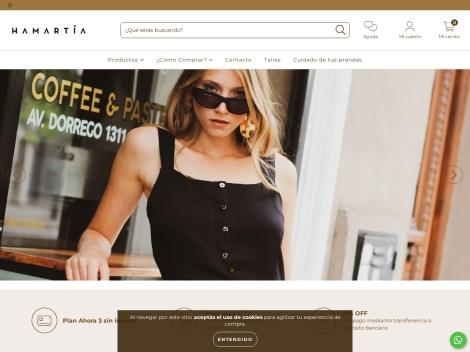Tienda online de Hamartia