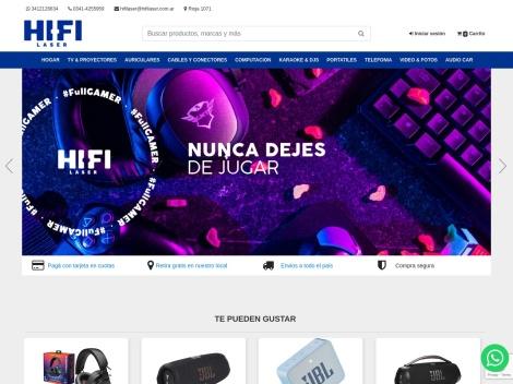 Tienda online de Hi-Fi Láser