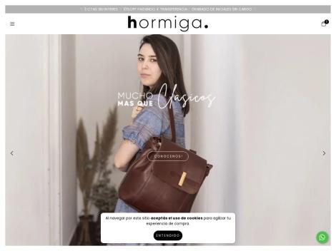 Tienda online de Hormiga Cueros