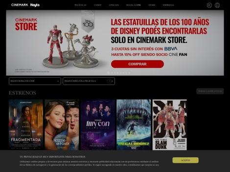 Tienda online de Cines Hoyts Argentina