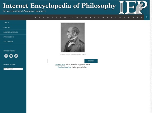 The Internet Encyclopedia of Philosophy