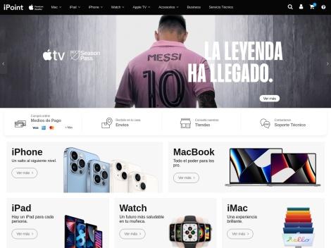 Tienda online de Ipoint (Apple Store)