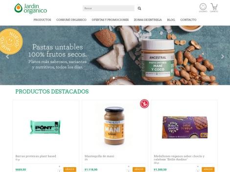 Tienda online de Jardín Orgánico