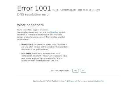 Tienda online de Julieta Grana