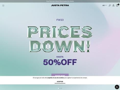 Tienda online de Justa Petra   Store online
