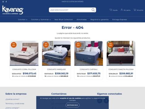 Tienda online de Colchones Kavanag