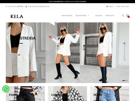 Tienda online de Ke La Pario