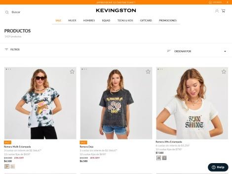Tienda online de Kevingston Argentina – Venta online