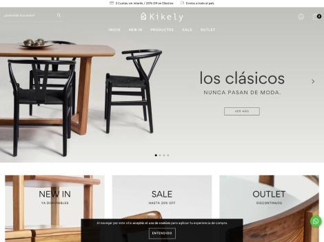 Tienda online de Kikely Muebles & Deco